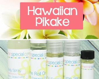 Hawaiian Pikake Perfume, Perfume Spray, Body Spray, Perfume Roll On, Perfume Sample, Dry Oil Spray, Pikake Perfume, You Choose the Product