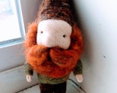 RESERVED Felted Gnome