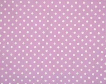 Grape dots CL knit  1 yard