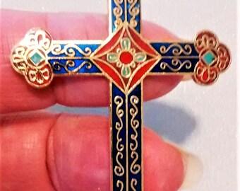 E-147 Hallmark Ornate Cross