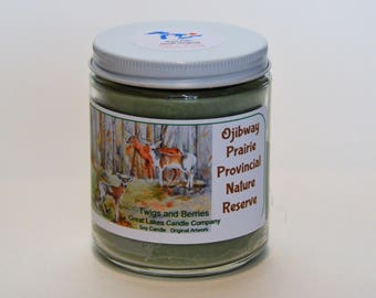 Ojibway Prairie Provincial Nature Preserve Candle