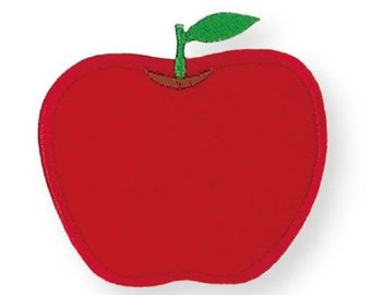 208641 red apple iron-on transfer sheet 1 piece