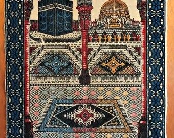 Vintage Tapestry Rug Wall Hanging