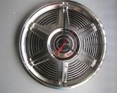 1965 Ford Mustang Hubcap Clock  No.2439