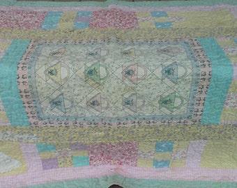 Vintage Baby Patchwork Quilt