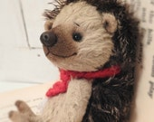 RESERVED-Hedgy- A Hand Made Artist Hedge Hog/TeddyBear