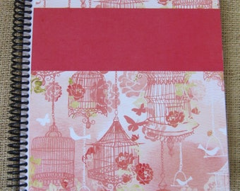 """itsjustemmy August 2017 to July 2018 Weekly Day Planner with the """"Strawberry Shortcake"""" Design Handmade Cover"""