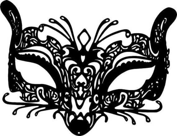 fox filigree mardi gras mask clipart png clip art printable Digital Image Download graphics printables venetian masquerade mask digi stamp