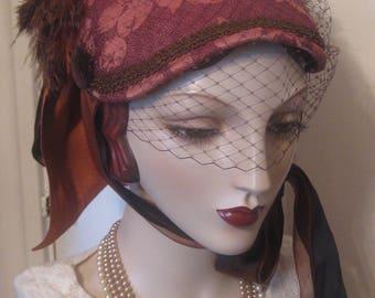 Reproduction Victorian Bonnet