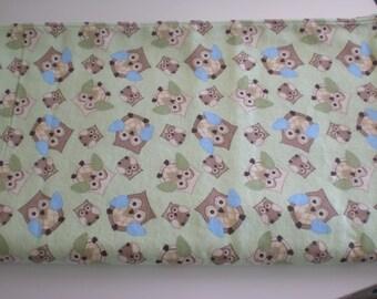 Owl baby crib/receiving/swaddling blanket