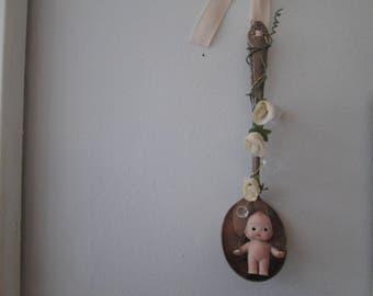 porcelian art doll cupie doll