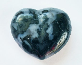 Indigo Gabbro Mini Puffy Heart for those who seek truth to alleviate suffering in the world.