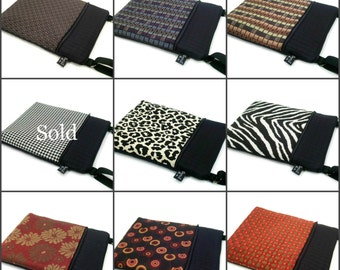The Tablet - Cross Body Messenger - Pick Your Fabric