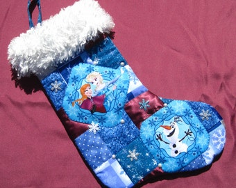 PERSONALIZED Frozen Christmas Stocking Frozen Elsa Stocking