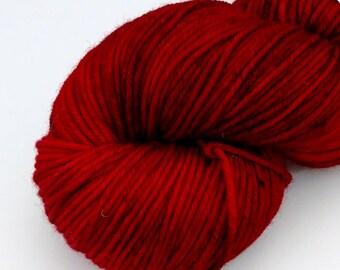 Ruby Slippers - XL Skein - Hand Dyed Superwash Merino Worsted Weight - Surfeit