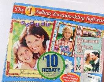 New in Box - Scrapbook Factory Scrapbooking Software - Deluxe Version 4.0