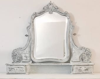 Antique vanity  Etsy