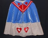 custom listing for marco, bunnies are brave cape.