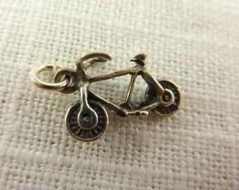 Vintage Sterling Bicycle Charm