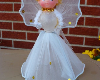 Small Tree Topper Angel - 1970's
