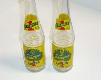 Set of Two - Vernors Bottles 12 oz. size - Detroit, Michigan