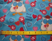 Tootsie Roll Pop Fabric Sold by the 1/2 Yard