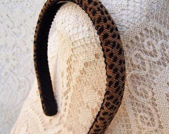 Cheetah headband