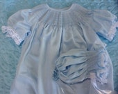 Special Listing For Robbin White Imperial batiste daygown and Bonnet