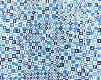 REMNANT Liberty of London Tana Lawn Checkmate A 1.30m