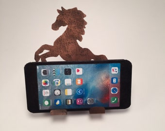 Rearing Horse Cell Phone Holder Cell Phone Stand Horse Cell Phone Charger Horse Lover Gifts items for Horses Horse Decorations