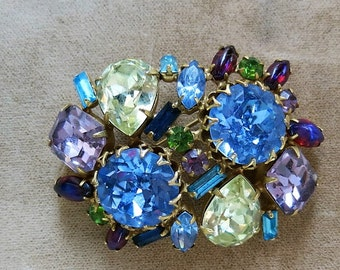 A Multi Colored Brooch by Alice Caviness