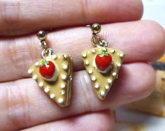 Miniature Cake Stud Earrings