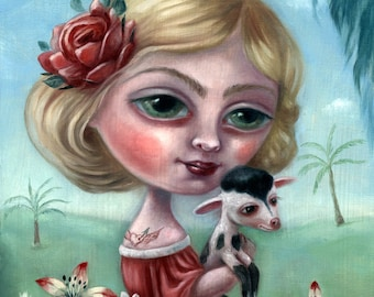 La Rosa / Print on Paper by Ilona Cutts