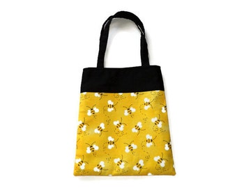 Bumble Bee Gift Bag - Goodie Bag - Mini Tote - Lot of 10