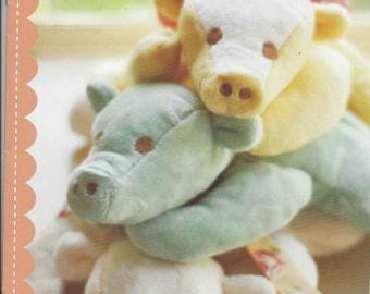 Sale!  Snuggle Softies pattern (FTQ858) - Fig Tree & Co