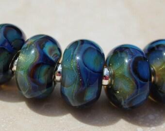 SALZBURG Artisan boro beads by JRG