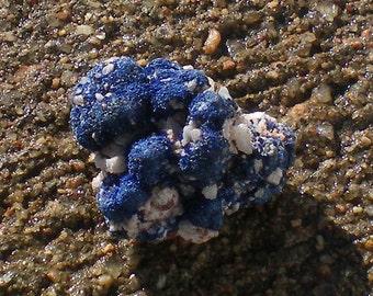 Azurite Blue Mineral