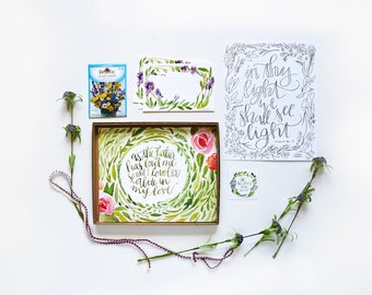 Bloom PETITE box (theme of your choice)
