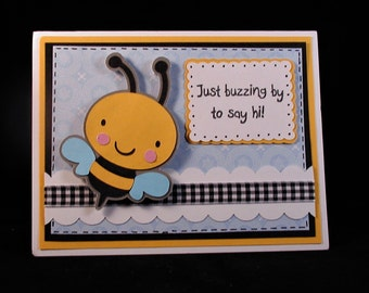 Bee Note Card