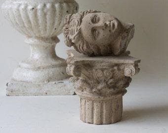 mini capital column and head