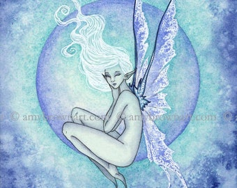 5x7 Pale Fae fairy PRINT by Amy Brown