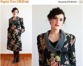 """SALE black floral jacket 
