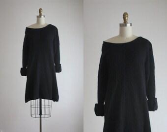 CLEARANCE. angora sweater dress