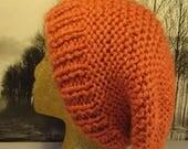 50% OFF SALE Instant Digital File PDF Download superfast garter stitch super slouch hat pdf knitting pattern