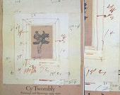 Vintage Cy Twombly Poster