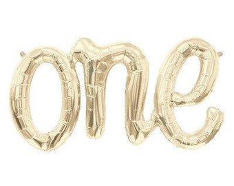 ONE script balloons-birthday//garland//baby//turning one//backdrop