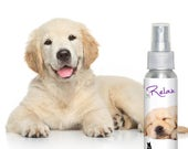 GOLDEN RETRIEVER RELAX Dog Aromatherapy  for Anxiety, Stress, Separation, Travel, Thunderstorm Fear and Loud Noise Concerns in Dogs