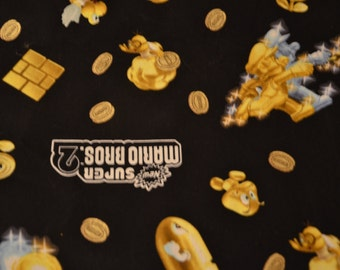 Gold Mario Skirt