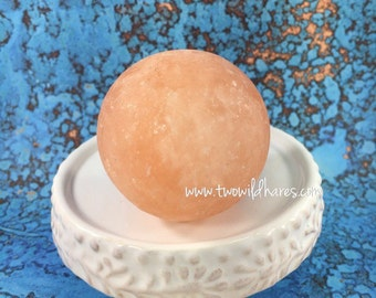 HIMALAYAN PINK SALT,  Massage Ball, Re-mineralize & Relax, 5-6oz