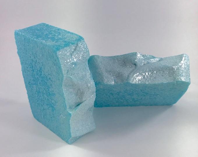 MERMAID SEA SALT Soap, Tropical & Fresh, A Creamy Bar Loaded in Re-mineralizing Sea Salt, 5.5 oz